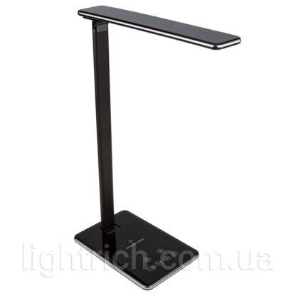 Настільна лампа Lightrich WD102 з бездротовою зарядкою, Black