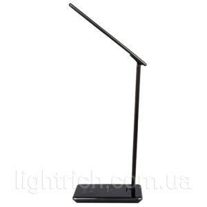 Настольная лампа Lightrich WD102 с беспроводной зарядкой, Black