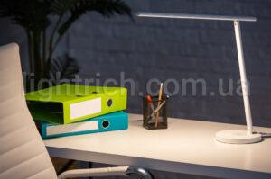 Настольная лампа Lightrich DR-7035 со Smart управлением и беспроводной зарядкой, White