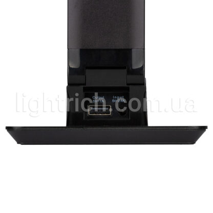 Сенсорна настільна лампа Lightrich TX-180 c бездротовою зарядкою, Black