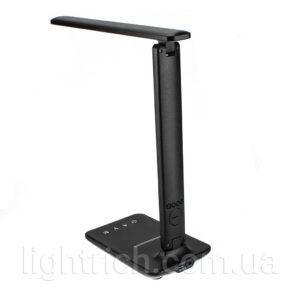 Настольная лампа Lightrich TX26C с органайзером и беспроводной зарядкой, Black