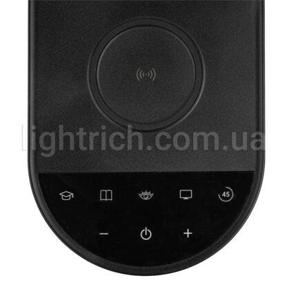 Настільна лампа Lightrich S3 з бездротовою зарядкою, Black