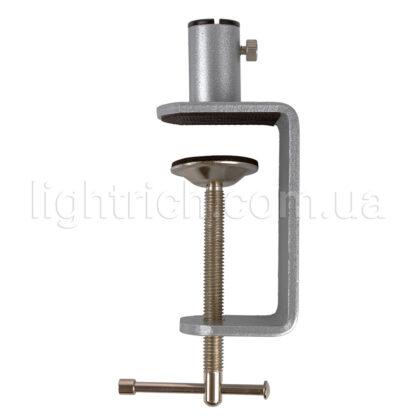 Настольная лампа на струбцине Lightrich C201-S, Silver