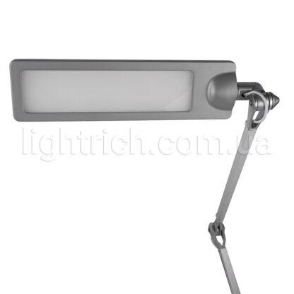 Настільна лампа на струбцині Lightrich F201-Q, Silver