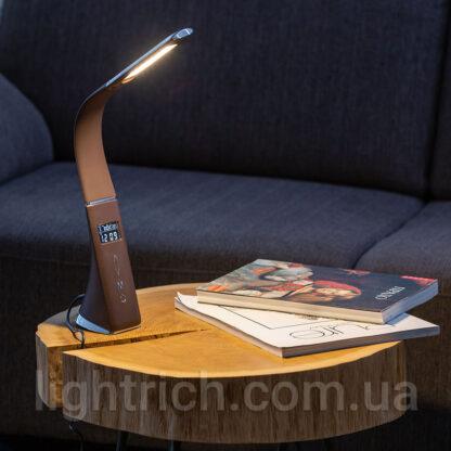 Настольная лампа Lightrich H19 с дисплеем и аккумулятором, Black