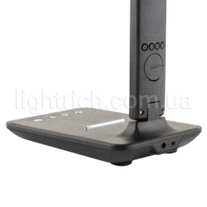 Настольная лампа c аккумулятором и часами Lightrich TC26 Черная