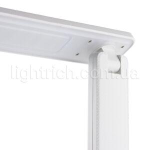 Настольная лампа c аккумулятором и часами Lightrich TC26 Белая