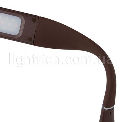Настольная лампа Lightrich H19 с дисплеем и аккумулятором, Brown
